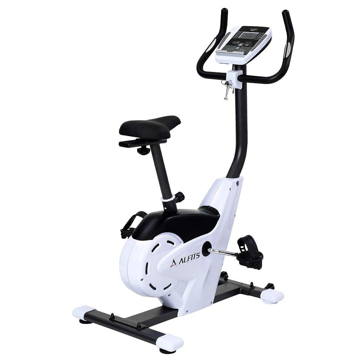 罰風景梨ALINCO(アルインコ) プログラムバイク AFB6216 16段階負荷調節 トレーニングメニュー付