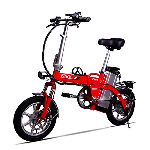WXDP Patineta Cruiser Pro,Unisex Mini Bicicletas eléctricas 14