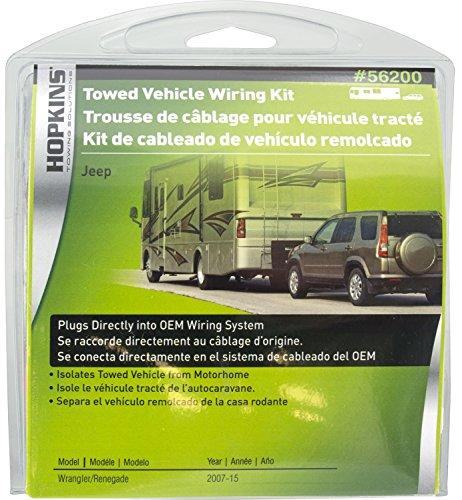 Hopkins 56200 Plug-In Simple Towed Vehicle Wiring Kit