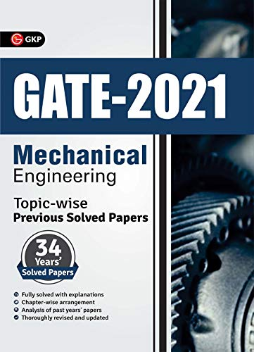 GATE Mechanical Engineering Topic-wise Previous 34 Years Solved Papers