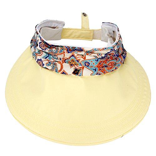 TININNA Donne Elegante Signore A Strisce del Floppy Cappello di Paglia Sun della Visiera Spiaggia Estate del Cappello