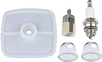 Hipa 13031054130 Air Filter with Spark Plug Primer Bulb Fuel Filter for Echo HC160 HC200 HC225 HC1600 PB250 PE230 PE231 PPF210 SRM210 SRM211 Gas Trimmer
