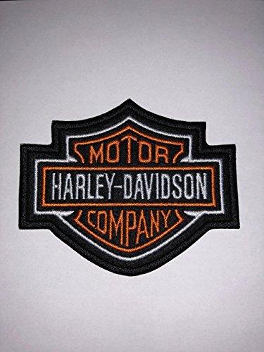 Marel Écusson thermocollant brodé Harley Davidson - réplique - 8,2 x 7 cm