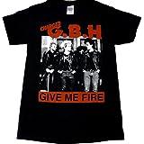 【G.B.H】ジービーエイチ オフィシャルバンドTシャツ#1 (L)