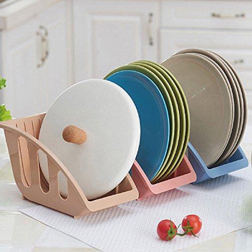 Bazaar houder voor keuken, drianing antenne, voor schotels, organizer, voor het drogen van plank, plank, afdruiprek van kunststof