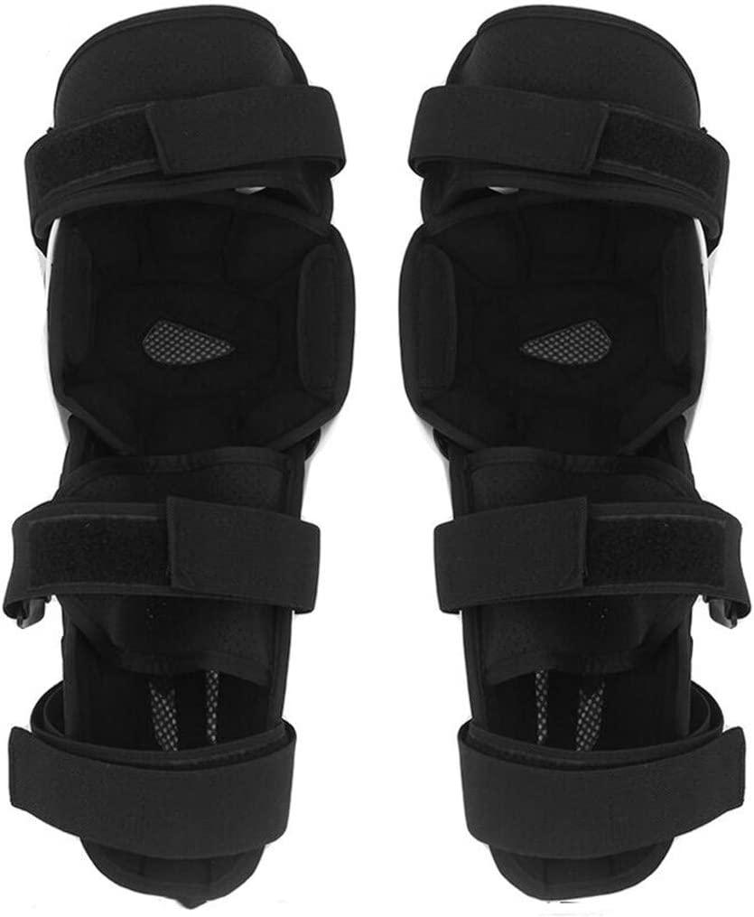 Rodilleras para Rodilleras para piernas de Motocross WJH Rodilleras de Motocicleta para Adultos protecci/ón de Rodillas con Amortiguador de Golpes Transpirable Resistente a los Golpes Motocross