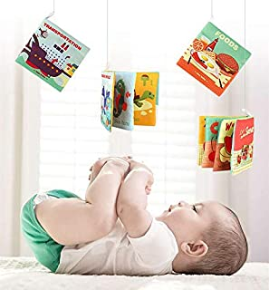 Kids Books Baby Early Learning Tearing Tail Cloth Book Parent-child Interactive Sound Paper Puzzle Cloth Book Toys