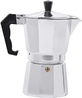 BESTONZON Moka Express Percolator Espresso,Cappuccino and Latte Percolator (1Cup, 50ML)