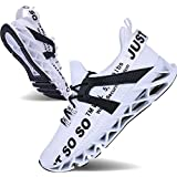 JSLEAP Mens Athletic Walking Shoes Casual Best Slip Running Training Workout Sneakers