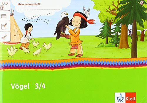 Vögel 3/4: Übungsheft Klasse 3/4 (Mein Anoki-Übungsheft)