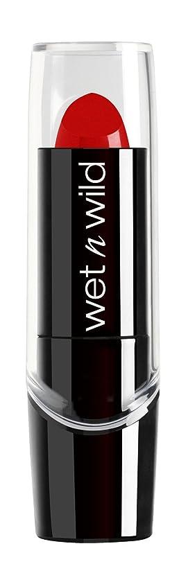 シュガー一掃する昼間WET N WILD New Silk Finish Lipstick Hot Red (並行輸入品)