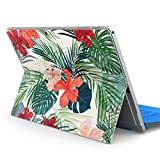 igsticker Decal Cover for Microsoft Surface Pro 7(2019)/ Pro 6 /Pro 2017/ Pro 4/Ultra Thin Protective Body Sticker Skins 012034 Hibiscus Flower Plant