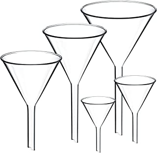 glass funnel for sand ceremony