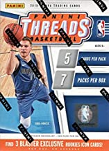 2018 2019 Panini Threads Basketball Series Unopened Blaster Box of Packs That Contains 35 Cards including 3 Blaster EXCLUSIVE Rookies Icon Cards Possible Luka Doncic