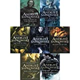 Andrzej sapkowski witcher series collection 7 books box set (the last wish, sword of destiny, blood of elves, time of contempt, baptism of fire)
