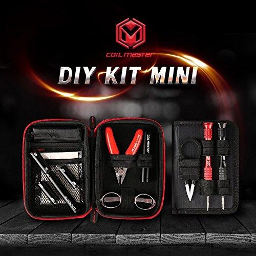 Coil Master - Kit DIY Mini per fai da te, kit di rigenerazione compatto e adatto agli esterni per i vapers