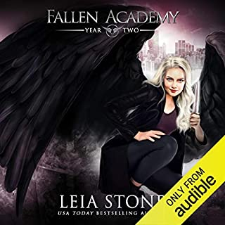 Page de couverture de Fallen Academy: Year Two
