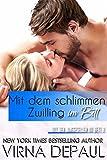 Mit dem schlimmen Zwilling im Bett (German Edition) (Mit den Junggesellen im Bett 2)