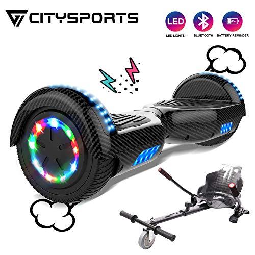 clasificación y comparación CITYSPORTS Overboard Tablero flotante Bluetooth de 6.5 pulgadas, scooter autoequilibrado … para casa