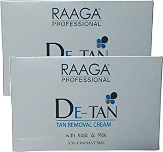 Raaga Professional De-Tan Removal Cream Sachet,72 G (Set Of 6)