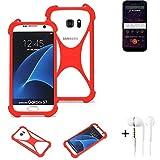 K-S-Trade® Mobile Phone Bumper + Earphones For Allview