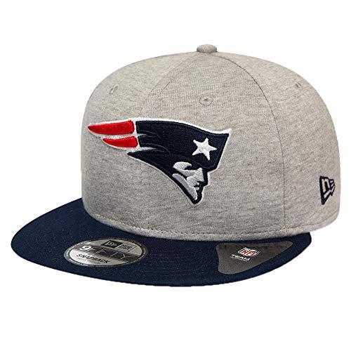 New Era Gorra 9FIFTY NFL Jersey Essential England Patriots Gris-Azul Marino -...