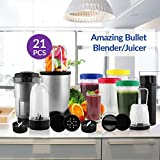 BMS Lifestyle 400 Watts Nutri Power Jet Multi Blender Mixer High-Speed Food Extractor
