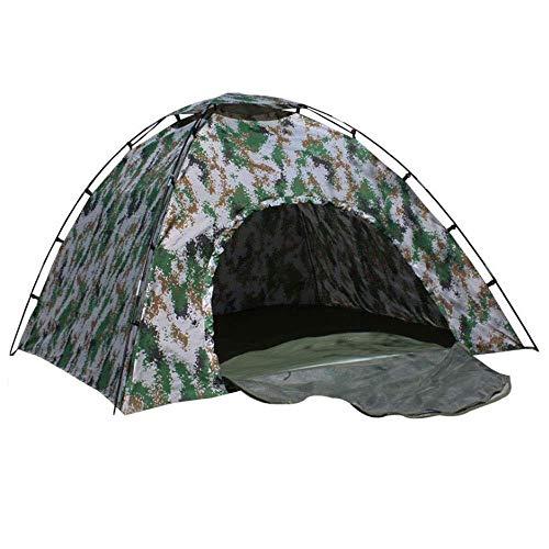 WOHAO Gewächshaus Zelt Outdoor-Camping-Zelt Strand-Zelt mit einem verschließbaren Tür for 2 Mann, automatische Sonnen Zelten Anti-UV for Strand, Garten Kuppelzelt