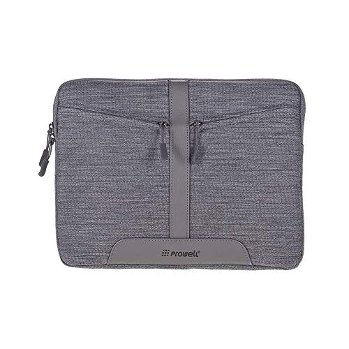 Backpack Prowell NB53290 Tablet Bag 13 inch Sleeve Tablet Case Cover Zipper Soft Business Handbag Fashion Portable Tablet Pouch with Front Pocket Briefcase for iPad Xiaomi Laptop Accessories