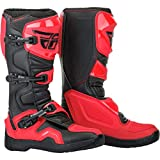 Fly Racing Unisex-Adult Red & Black Riding Boot - 14