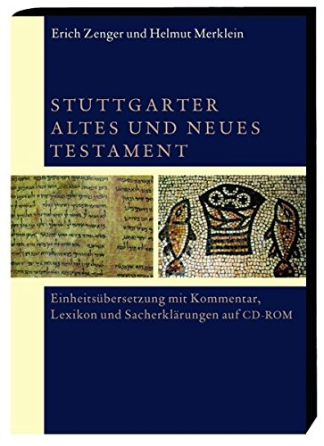 Stuttgarter Altes und Neues Testament. CD-ROM für Windows Vista/XP [import allemand]