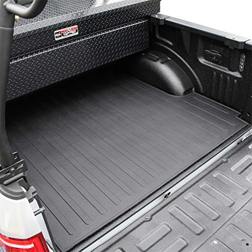 Westin 50-6365 Black Rubber Truck Bed Mat fits 2015-2021 F-150 (6.5ft Bed)