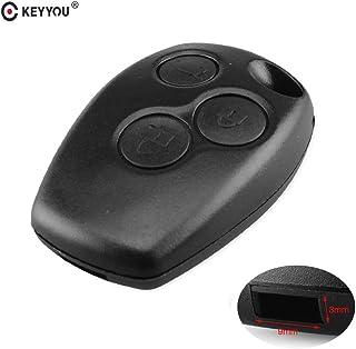 Calap-Store - 10X 3 Button Remote Key Shell Case For Renault Megane Modus Espace