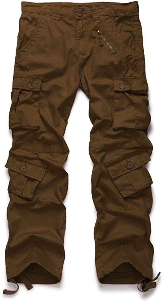 OCHENTA Women's Sale Don't miss the campaign Multi Pockets Utility Pant Cargo Casual Cotton
