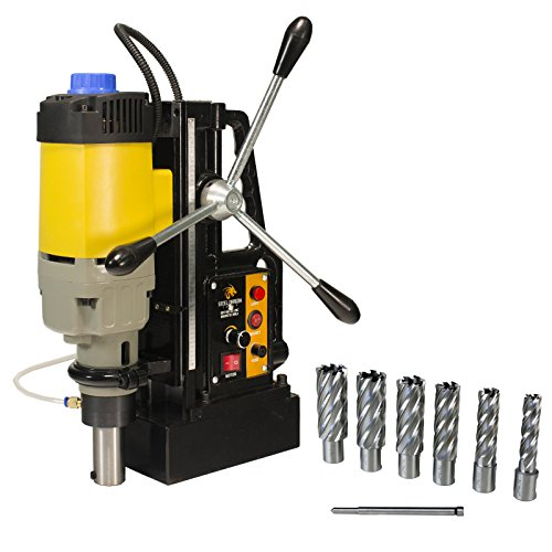 Steel Dragon Tools MD50 Magnetic Drill with 7pc 2in. HSS Annular Cutter Kit