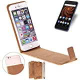 K-S-Trade Cork Case Flip Style Cover for Allview X4 Soul