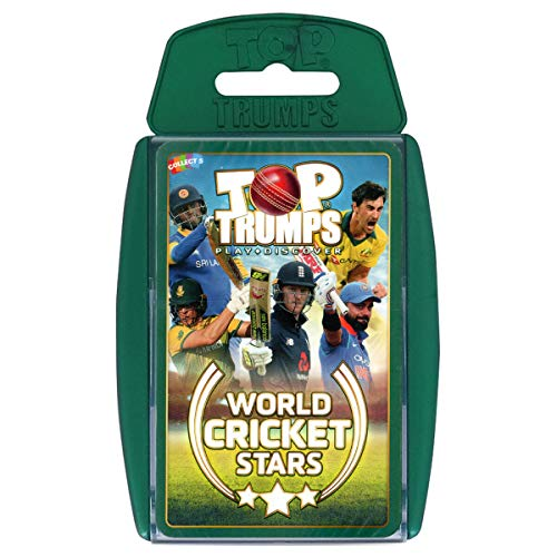 Winning Moves Top Trumps World Cricket Stars Card Game