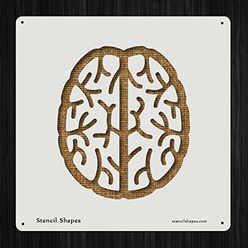 Brain Rubber Stamp BR103H