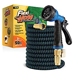 professional Flexi Hose Lightweight and expandable garden hose   Twist-free flexibility – 3/4 for additional strength…