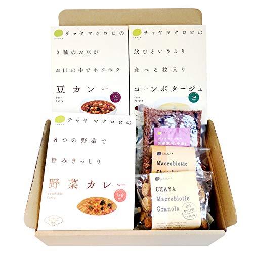 チャヤ マクロビオティックス レトルト&グラノーラギフト 6箱 (6種)×6 惣菜 焼き菓子 東京