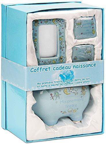 BRUBAKER - Coffret cadeau Bb/Naissance - 4 Pices - Ma...