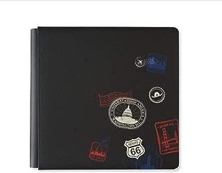 12x12 Ebony Scenic Route Album Cover Travel USA Scrapbook True Size by Creative Memories