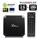 Android 7.1 RAM 2G+16G ROM TV Box X96 Mini Amlogic...