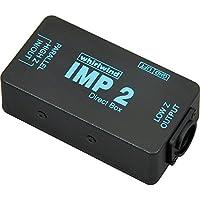 whirlwind キーボード/ラインレベル機器用パッシブ・スタンダードダイレクトボックス IMP2