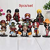 No WEIbeta 9 Stück/Set Einteilige Actionfiguren Süße Einteilige Folie Z PVC-Figur Spielzeugpuppen GT