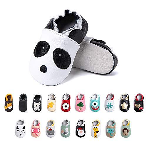 Primeros Pasos Bebe Niña Niños Zapatos Zapatillas de Estar por Casa Pantuflas Calzado Botitas y Patucos Infantiles Piel Sintético Casual Antideslizante-2 XM 18-24 Meses