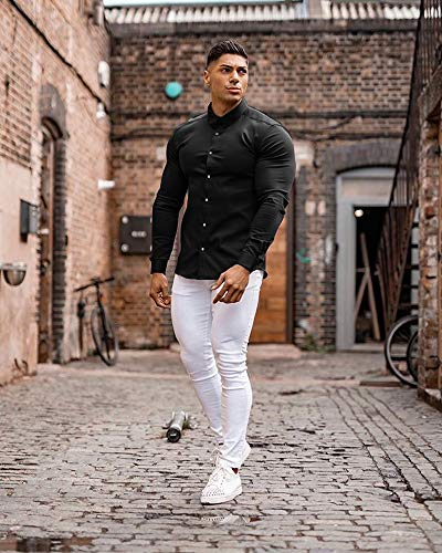 COOFANDY Men's Muscle Fit Dress Shirts...