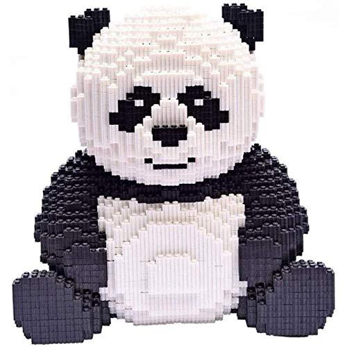 ZHANG Juguetes De Bloques De Construcción De Panda 3D, Bloques De Construcción De Partículas Pequeñas, Rompecabezas De Juguete para Niños Adultos, Juguetes Educativos