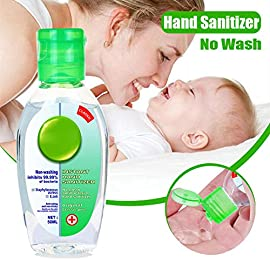 50ML Hand Sanitizer Gel Free Alcohol, Portable Instant Hand Refreshing Gel, Non-Rinse Hand Sanitizer Gel, Disposable Hand Soap for Kitchen/Bathroom/Office/School 7 <p>Non-Rinse Hand Sanitizer Gel: Gentle and non-irritating, does not hurt the skin, has water-holding and moisturizing function.This clearner formula stops the spread of dirty stuff to keep your family safe. Safe for babies. How to use: Take an appropriate amount (2-3ml) of the product to moisten your hands and rub for 15 seconds until the liquid covers your hands, wait for drying, and do not wash with water. Non-sticky formula: Keep clean hands and health for kids. Better yet, it won't leave a sticky or tacky residue like other hand sanitizers. Make you easily can keep clean and tidy anytime and anywhere. Portable: Small size, easy to carry. Gel texture, you can easily control the amount. The Hand Sanitizer Gel is perfect for all occasions, this Hands Sterilizer Gel is convenient and easy to use. Applicable: Throw it in your purse, backpack, beach bag and always have a way to keep your hands clean. Use it at your office, home, in your car, school or anywhere else you need to quickly clean your hands.</p>