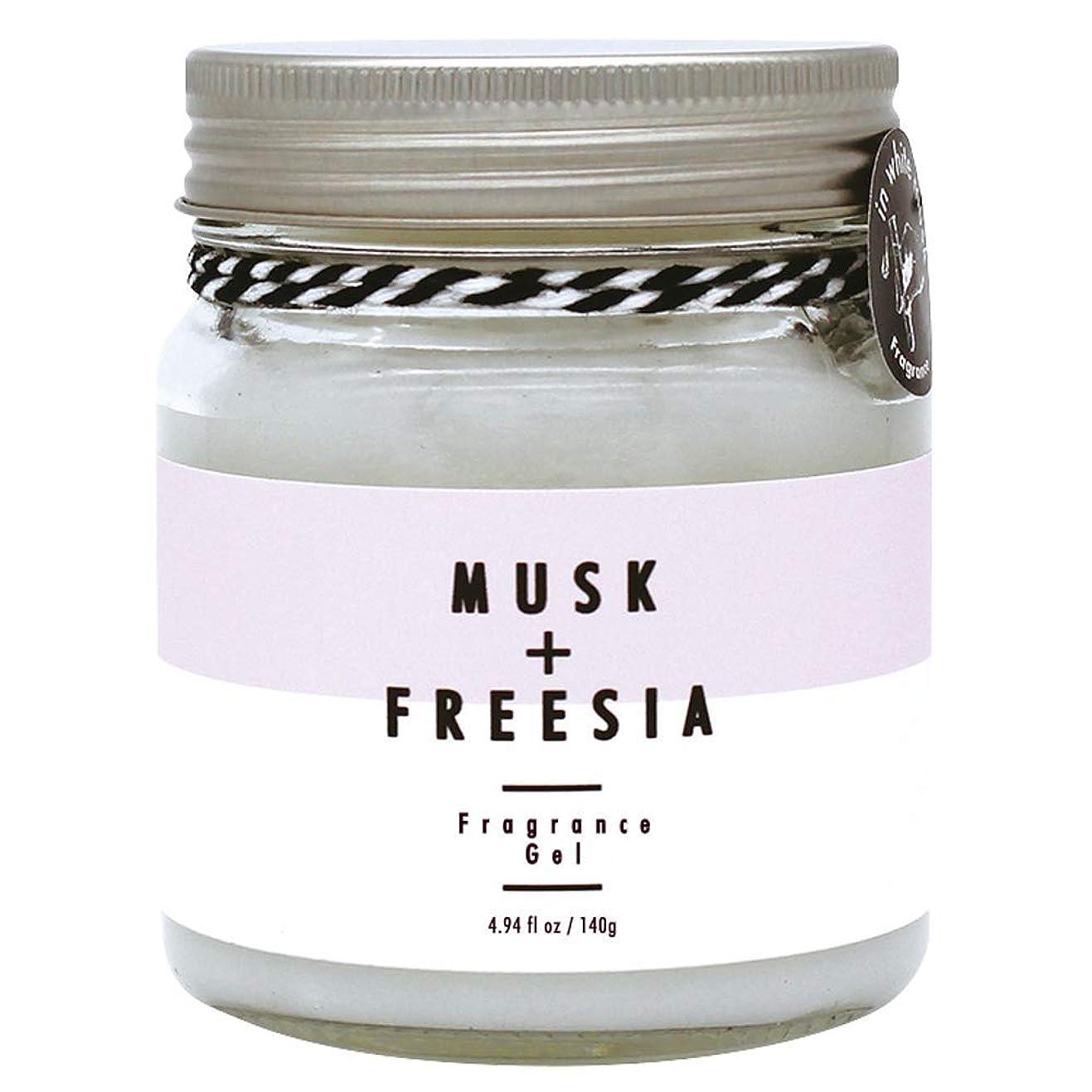 製品シリング破産ノルコーポレーション ルームフレグランス more room フレグランスジェル 140g ホワイトムスク & フリージアの香り MRM-1-1